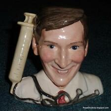 """""""Kenneth Williams"""" Royal Doulton Character Toby Jug D7173 Carry On Gang Series"""