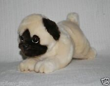 "SALE *NEW* LYING PUG PUP PUPPY DOG ""PEPITO"" SOFT STUFFED TOY 28CM"