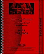 International Harvester T4 T5 TC5 TD5 TDC5 Crawler Service Manual