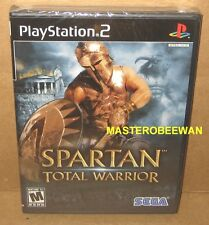 PS2 Spartan: Total Warrior New Sealed (Sony PlayStation 2, 2005)