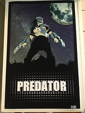 Predator movie poster print