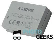 Battery for Canon PowerShot G1 G3 X G1X G3X G15 SX40 SX50 HS IS Camera NB-10L