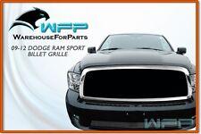 09-2012 Dodge RAM Sport Bumper Billet Grille Grill Insert