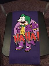 Teefury Men's SMALL Purple T-Shirt Ha! Ha! Batman The Joker Nelson The Simpsons