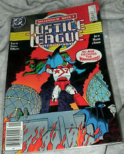 JUSTICE LEAGUE INTERNATIONAL JAN '88 #9 by GIFFEN, DEMATTEIS,MAGUIRE,GORDON