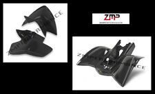 NEW YAMAHA YFS 200 BLASTER BLACK PLASTIC CUSTOM FRONT AND REAR FENDER SET