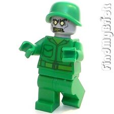 M122 Lego Army Zombie Undead Halloween Ghost Minifigure NEW