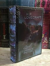 H. P. LOVECRAFT- THE COMPLETE FICTION At Mountains Madness, etc. LEATHER & NEW