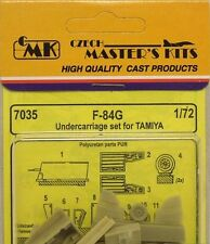 CMK 1/72 F-84G Undercarriage Set for Tamiya # 7035