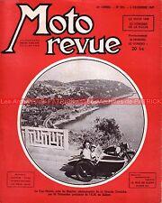 MOTO REVUE  905 Congrès de la FIM Point de vue sur le MOTOCYCLISME 1948