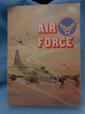Avalon Hill Board Game Bookcase Air Force Plane to Plane Combat Unpunched