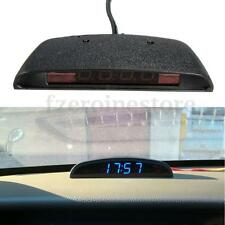 New Voltage Meter Monitor Car Auto LCD LED Digital Clock Thermometer Temperature