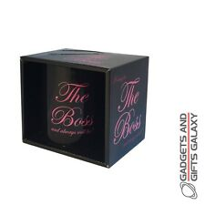THE BOSS FEMALE MUG NOVELTY Adults gifts toys games and gadgets