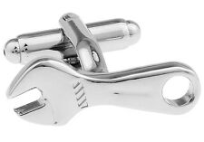 Wrenches Pair Cufflinks Mechanic Spanner Wedding Fancy Gift Box Free Ship USA