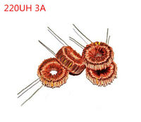10PCS 220uH 220UH 3A coil wire wrap toroid inductor choke