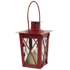 Red Mini Colonial Williamsburg Votive Lantern Tealight Candle NEW Decor Party