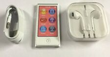 NEW! Apple iPod nano 7th Generation (16 GB) SILVER , BUNDLE LOT!  Warranty!