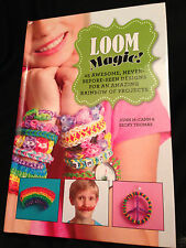 Loom Magic Book Rubberband Childrens Craft 25 New Projects 2013 Rainbow Looms