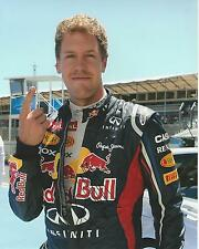 Sebastian Vettel signed 10x8 Image A photo UACC Registered dealer