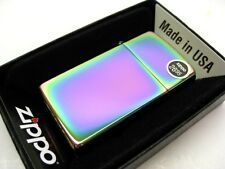 ZIPPO Slim Size SPECTRUM Finish Windproof Lighter Model 20493 New!