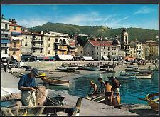 Italy Postcard - Fishing Boats at San Terenzo    LC5521