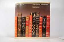 FINE BOOKS & MANUSCRIPTS  WEDNESDAY, MAY 6, 1981 - SALE # 4598E, SOTHEBY'S - SOT