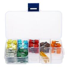 120Pcs Assortment Mini Blade Fuse Car SUV 5A 7.5A 10A 15A 20A 25A 30A Fuses T1A9