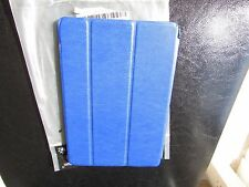 Bear Motion Apple iPad Mini 1-2 or 3 Tablet Stand Book Folio Case Cover BLUE