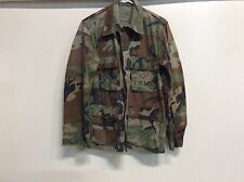 USGI WOODLAND BDU BLOUSE TOP COAT CORPS SHORT REGULAR COLD WEATHER USMC LOGO