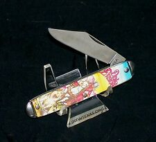 """Colonial Character Knife """"Dale Evans"""" Master Brand Circa-1970's USA Made Rare"""