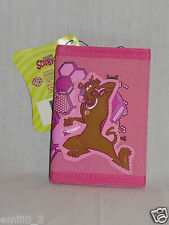 NEW IN PACKAGE SCOOBY DOO KIDS TRIFOLD  PINK WALLET