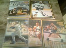 HEROES OF THE GAME 5 DIF WAYNE GRETZKY RUSTY Wallace #/2000 larry bird griffey