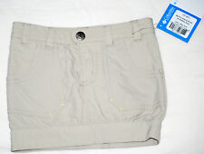 NWT Columbia Toddler Girls Tan Silver Ridge Skort, Size 2T