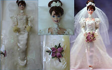 BARBIE ROMANTIC ROSE BRIDE 1995 Porcellana 2°della serie