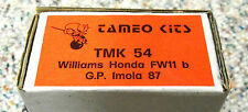 Tameo 1/43 Williams Honda FW-11B 1987