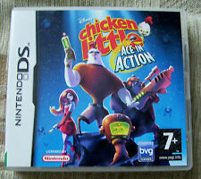 CHICKEN LITTLE - ACE IN ACTION, NINTENDO DS GAME, 7+, BOOKLET INCLUDED