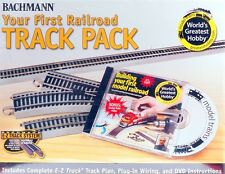 Bachmann HO Scale Train E-Z Track Nickel Silver/Gray Your First Railroad 44596