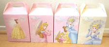 Disney Princess Cinderella Aurora Belle 8 Gift Box Party Supply Favor Bag