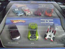 HOT WHEELS DESIGNERS CHALLENGE 7 CARS SET GANGSTER GRIN CHEVROLATOR HONDA RACER
