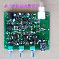 NEW Diy kit , Air band receiver,High sensitivity aviation radio 118-136MHz AM