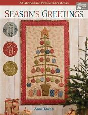 Season's Greetings: A Hatched and Patched Christmas by Anni Downs Paperback