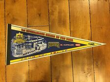 PITTSBURGH PIRATES PNC PARK 1ST INTERLEAGUE SERIES FULL SIZED PENNANT CLEVLAND
