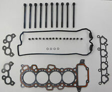 HEAD GASKET SET & BOLTS FITS NISSAN MICRA & MARCH K11 1.0 1.3 16V 1992-02 VRS