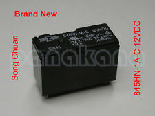 Song Chuan 845HN-1A-C 12VDC SPST Relay – Brand New