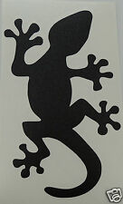 2 x Cool Gecko Lizard logo Stickers/Decals windsurfing/kitesurfing/surfing use