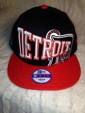 100% AUTHENTIC NEW ERA 9FIFTY YOUTH SIZE MLB DETROIT TIGERS SNAP BACK HAT