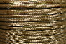 550 Paracord Mil Spec Type III 7 strand Camping Hiking Backpacking 10-100 ft