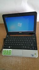 "Dell Inspiron Mini 10 Red Netbook Laptop 10.1"" 1GB Windows 7 Office No Battery"