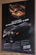 1982 Datsun advertisement, Datsun 280 ZX, Nissan sports car