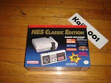 Nintendo Entertainment System NES Classic Edition Mini Console with 30 games C